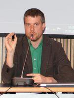 Dieter Janecek 2012 auf der Musikmesse in Frankfurt