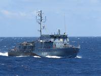 Minenjagdboot Datteln (M 1068) Bild: Bundeswehr/PAO EUNAVFOR MED Fotograf: Yvonne Albert