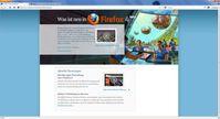 Screenshot der 5. Beta Version von Firefox 4.0