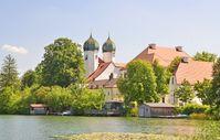 Kloster Seeon, Ansicht von Westen