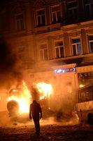 Brennende Barrikaden, Januar 2014