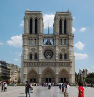 Notre-Dame de Paris, Westfassade