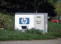 Hewlett-Packard Zentrale in Palo Alto, California