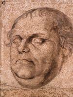 Porträt Martin Luthers nach seinem Tod (Lukas Furtenagel)