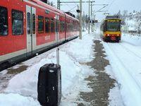Die Bahn kommt...außer bei Schnee, Regen, Wind, Hitze, Kälte.... (Symbolbild)