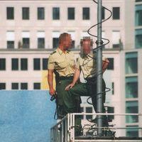 Polizisten der Berliner Polizei
