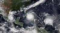 Hurrikans: Antrieb der Intensität durch Naturphänomen.