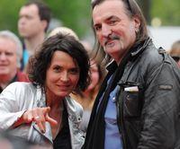 Ulrike Folkerts und Andreas Hoppe bei der Verleihung des Grimme-Preises 2014.