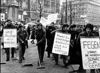 Lehrlingsdemonstration 1968 (68-er Bewegung)