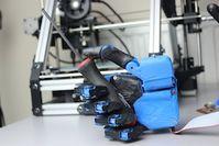 Robo-Hand: kostengünstig aus dem 3D-Drucker. Bild: openbionics.com