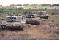 Deutsche Panzer stehen 2017 wieder an der russischen Grenze...