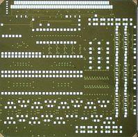 45-Nanometer-Chip: integriert Elektronik und Photonik. Bild: MIT, M. Georgas
