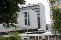 Der Europol-Hauptsitz in Den Haag