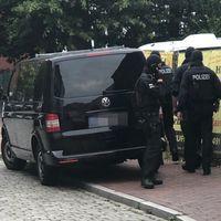 Durchsuchungsmaßnahmen der Bundespolizei / Bild: Bundespolizei