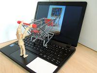Warenkorb, Onlineshopping (Symbolbild)