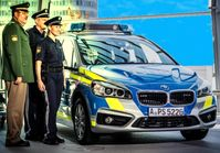 BMW Grand-Tourer Polizeiauto