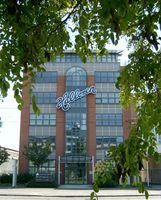 Die Halloren Schokoladenfabrik AG ist die älteste bis heute produzierende Schokoladenfabrik Deutschlands. Haupteingang