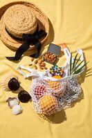 Mandeln sind der ideale Begleiter im Sommer Bild: Almond Board of California Fotograf: Almond Board of California