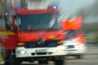 Symbolbild: Feuerwehreinsatz Bild: Polizei