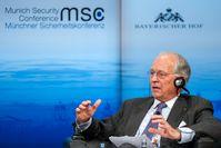 Wolfgang Ischinger auf der 50. Münchner Sicherheitskonferenz