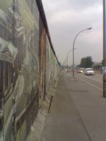 Teil der East Side Gallery