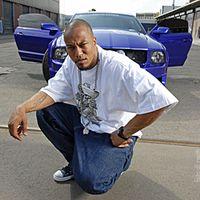 Porträt des Rappers Deso Dogg vom Juni 2005 in Berlin