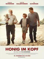 """Honig im Kopf"" Kinoposter"