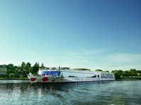 """Legeres Reisen auf Rhein und Donau: die Arosa Silva. Bild: """"obs/Nees Reisen AG/Arosa"""""""