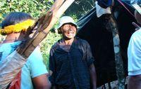 Nísio Gomes, ein Guarani-Schamane, wurde von Bewaffneten erschossen. Dieses Bild erstand erst vor zwei Tagen. Bild: Survival