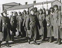 Lagerleiter Karl Streibel im Zwangsarbeitslager Trawniki (vor 1945)