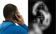''Bodyprint'': Authentifizierung über das Ohr möglich. Bild: yahoo.com