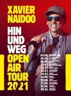 Xavier Naidoo Tourneeplakat