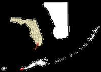 Key West Lage in Florida