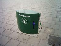Öffentlicher Kompressor in Stockholm
