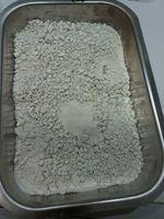 Recyceltes Phosphat aus Klärschlammasche, gewonnen mit dem P-bac-Verfahren. Quelle: © Fraunhofer IWKS (idw)