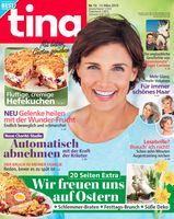 "Cover_tina_#12/19 / Bild: ""obs/Bauer Media Group, tina"""