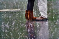 Sturm und Regen (Symbolbild)