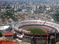 Im El Monumental wurden die Olympischen Jugendspielen in Buenos Aires eröffnet.