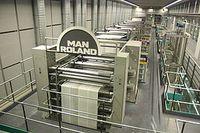 MAN Roland Druckmaschine. Bild: Sven Teschke, Büdingen / wikipedia.org