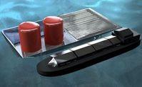 Schwimmende Plattform produziert Solar-Wasserstoff. Bild: Daniel Esposito
