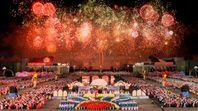 Eine Feier in Nordkorea