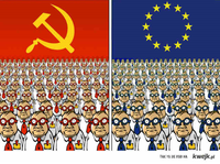 EUDSSR: Der Unterschied zwischen der UDSSR und der Europäischen Union (Symbolbild)