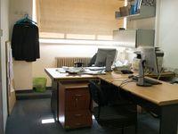 Ein typisches leeres Büro (Symbolbild)