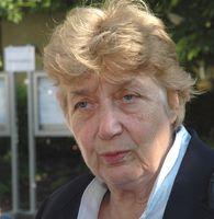 Barbara John, Ombudsfrau für die Hinterbliebenen der Opfer des Neonazi-Terrors des sogenannten Nationalsozialistischen Untergrundes (2013 beim NSU-Prozess in München)