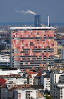 Hochhaus der GSW in Berlin-Kreuzberg