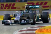 Rosberg beim Großen Preis von Singapur 2014