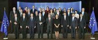 Die Kommissare der EU-Kommission: Sie werden nicht für dieses Amt gewählt, haben denoch mehr Macht als diese in ihren gewählten Ämtern zu Hause haben (2017)