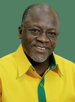 John Magufuli (2015), Archivbild
