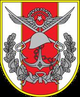 Wappen der Türkischen Streitkräfte (TSK, türkisch: Türk Silahlı Kuvvetleri)