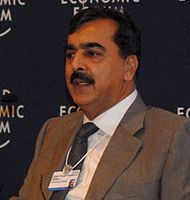 Makhdoom Syed Yousaf Raza Gilani Bild: World Economic Forum / wikipedia.org